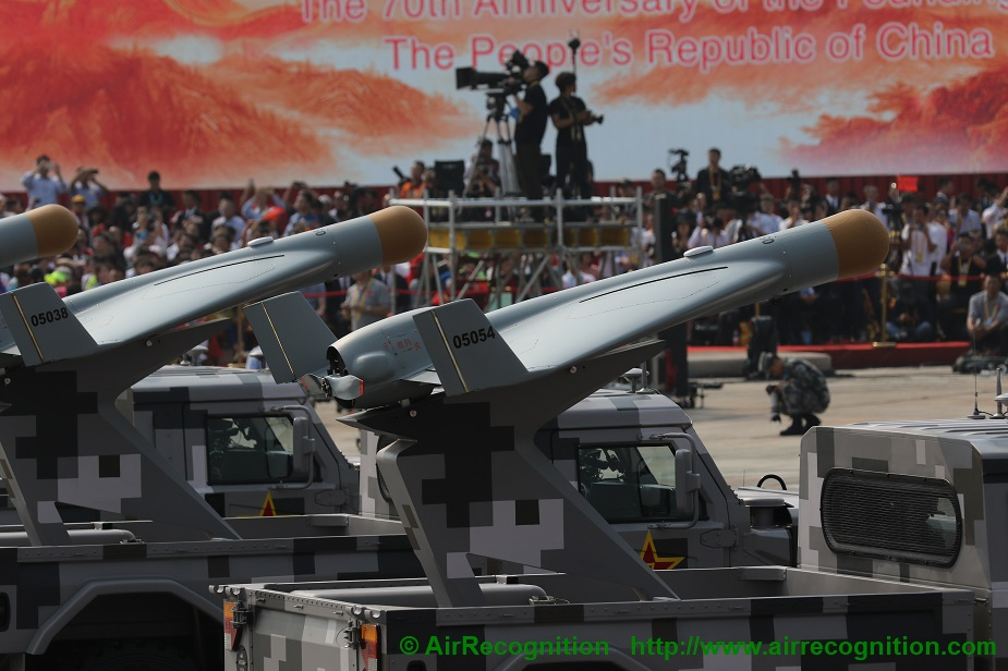 Analysis China exhibits advanced drones in military parade complete list 05