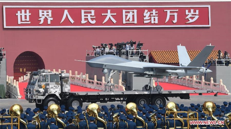 China exhibits advanced drones in military parade 05