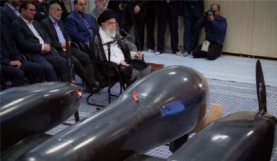 Iran displays new twin engine drone