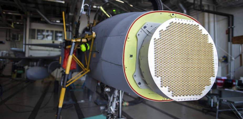 Saab completed first air trials with its new fighter X band AESA radar 02