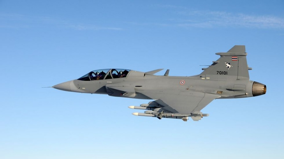 Saab completed first air trials with its new fighter X band AESA radar