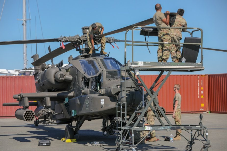 U.S. 101st Combat Aviation Brigade in France for Atlantic Resolve2020