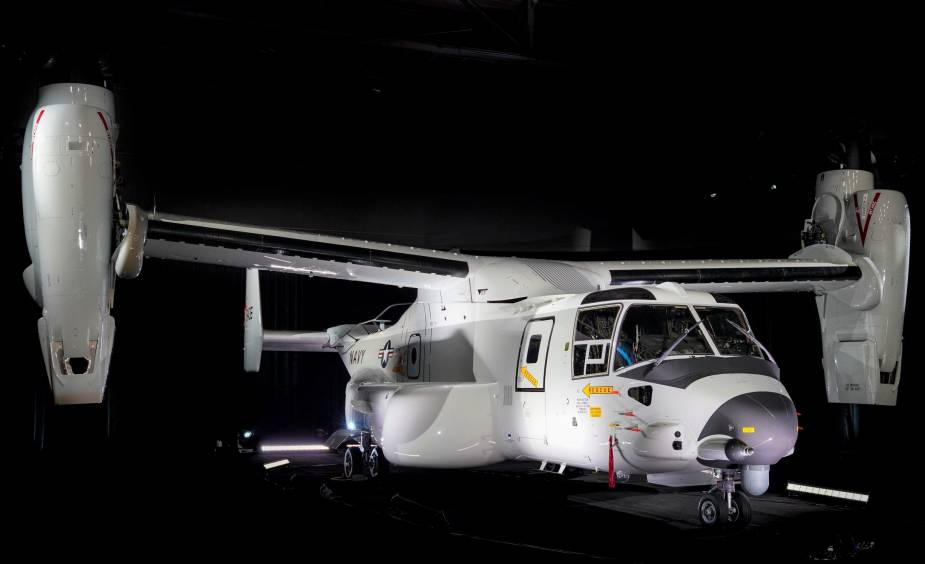 Bell Boeing awarded contract for CMV 22B Osprey delivery and maintenance