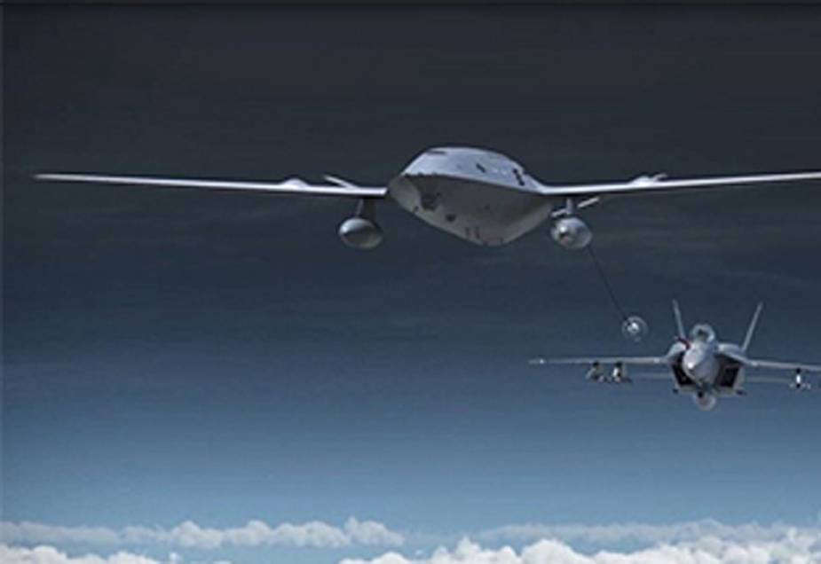 Boeing Autonomous MQ 25 Stingray completes first test flight with aerial refueling store 1