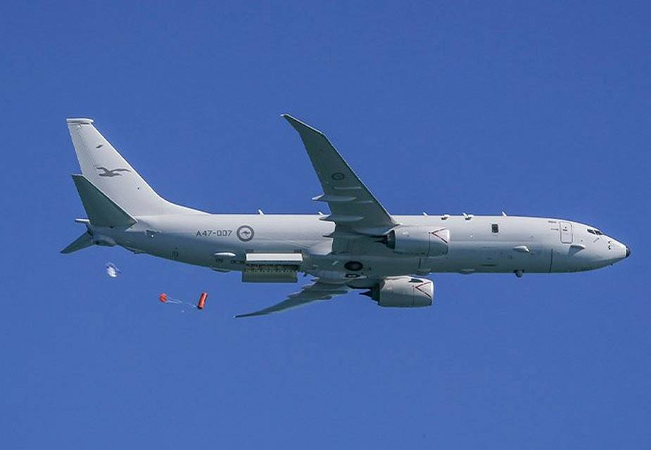 Boeing awarded U.S. Navy contract for New Zealand P 8 Poseidon training