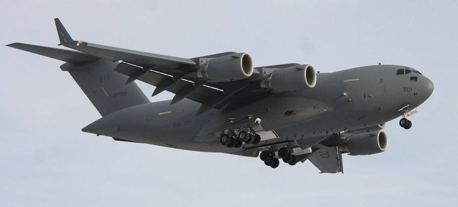 Boeing to supply sustainment and related equipment worth USD275 Mn to Canadian Air Force C 17s