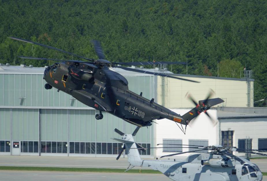 Rheinmetall takes over maintenance of German Air Forces CH 53G helicopter at Diepholz Air Base 1