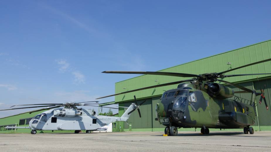 Rheinmetall takes over maintenance of German Air Forces CH 53G helicopter at Diepholz Air Base 2