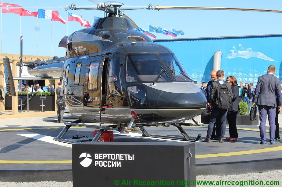 Rostec is ready to start deliveries of the Ansat Aurus helicopter 925 001
