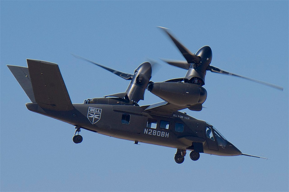 Bell V 280 Valor tiltrotor aircraft completed successful autonomous test flight
