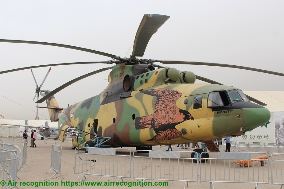 Pase para saber callejón Bendecir  Jordan received two Mi-26T2 helicopters from Russia