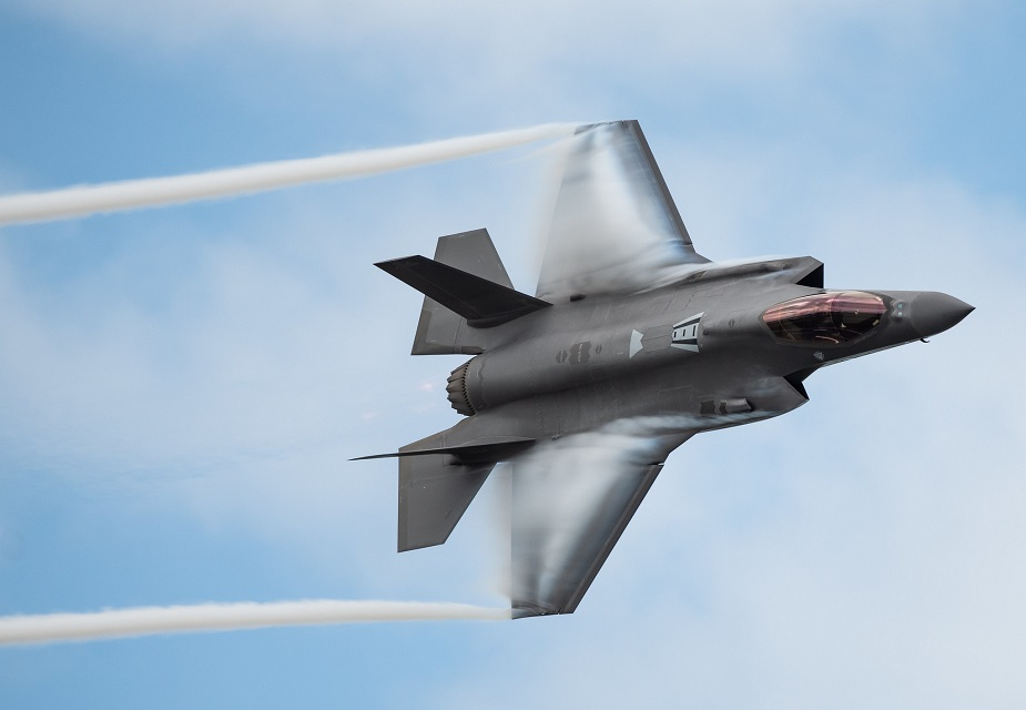 Lockheed Martin starts production of Denmarks first F 35 aircraft 01