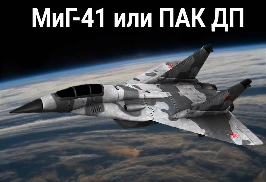 Russia continues to develop new Mig 41 PAK DP long range bomber aircraft 925 001