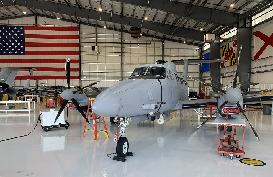 US Army took delivery of EMARSS V surveillance aircraft prototype 01