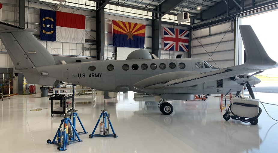 US Army took delivery of EMARSS V surveillance aircraft prototype 02