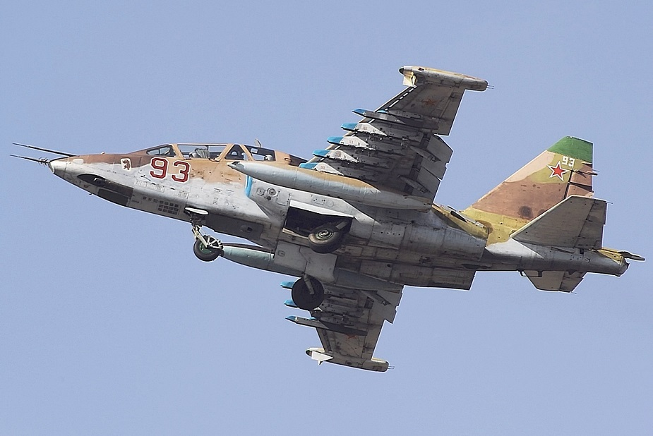 Belarus receives four repaired Su 25 CAS aircraft