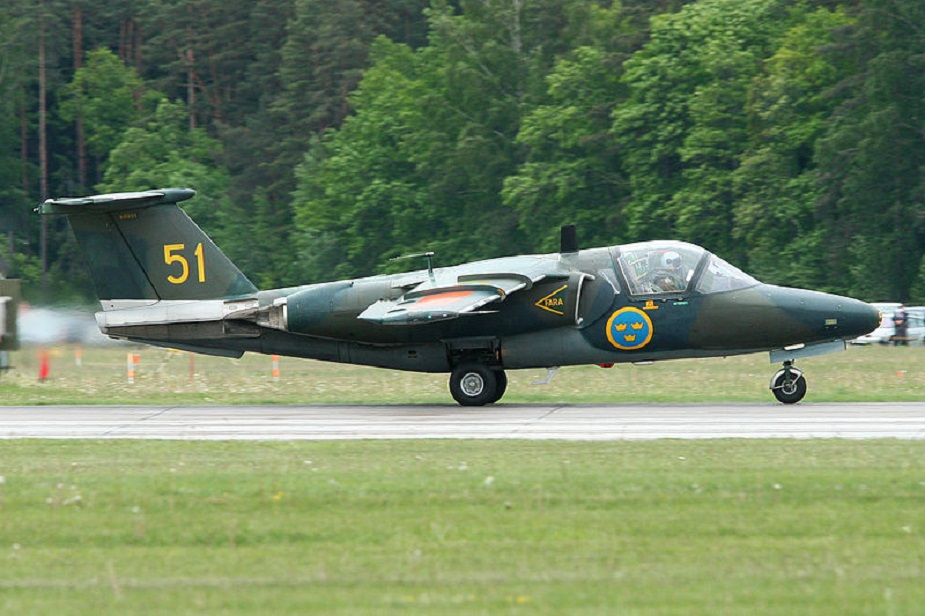Sweden seeks new trainer aircraft