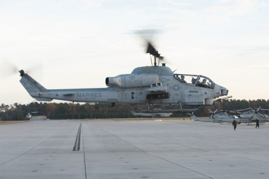 U.S. Marines retire Bell AH 1W Super Cobra attack helicopter after 34 years of service