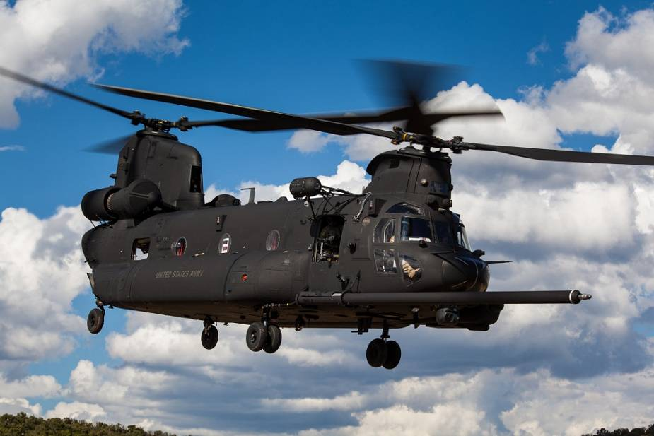 Boeing delivers first MH 47G Block II Chinook helicopter to US Special Forces 925 001