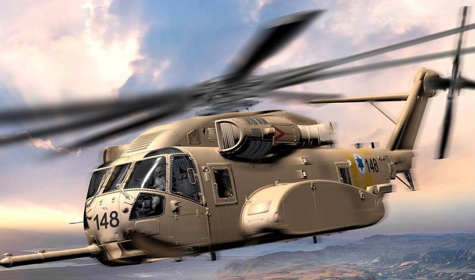 Israeli military selects Lockheed Martin CH 53K King Stallion as new transport helicopter 01