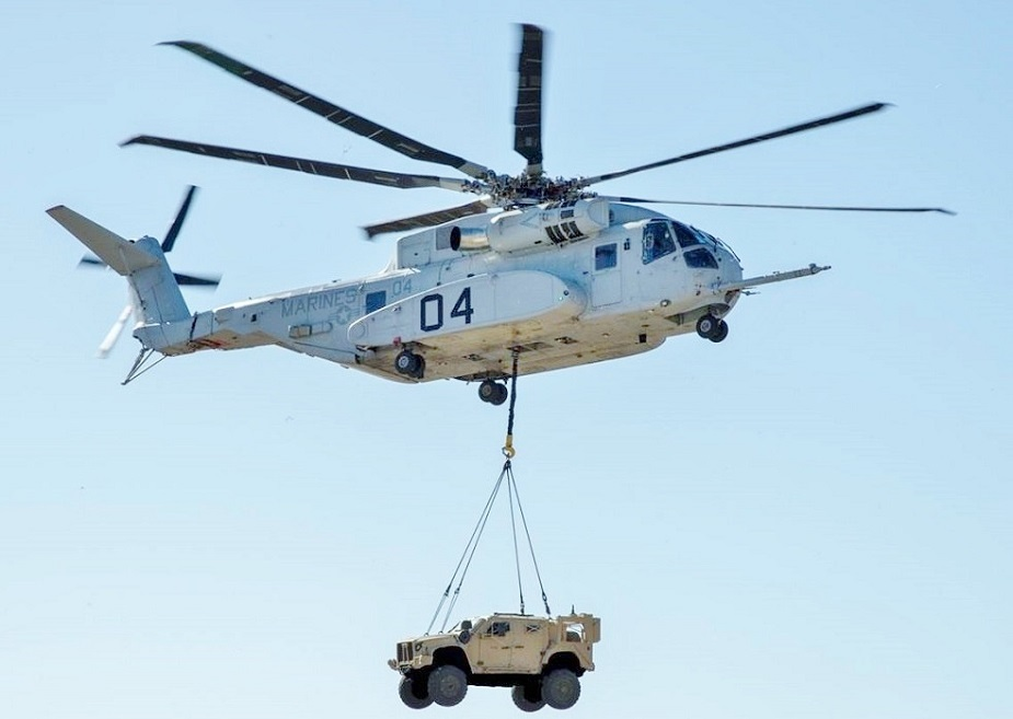 Israeli military selects Lockheed Martin CH 53K King Stallion as new transport helicopter 02