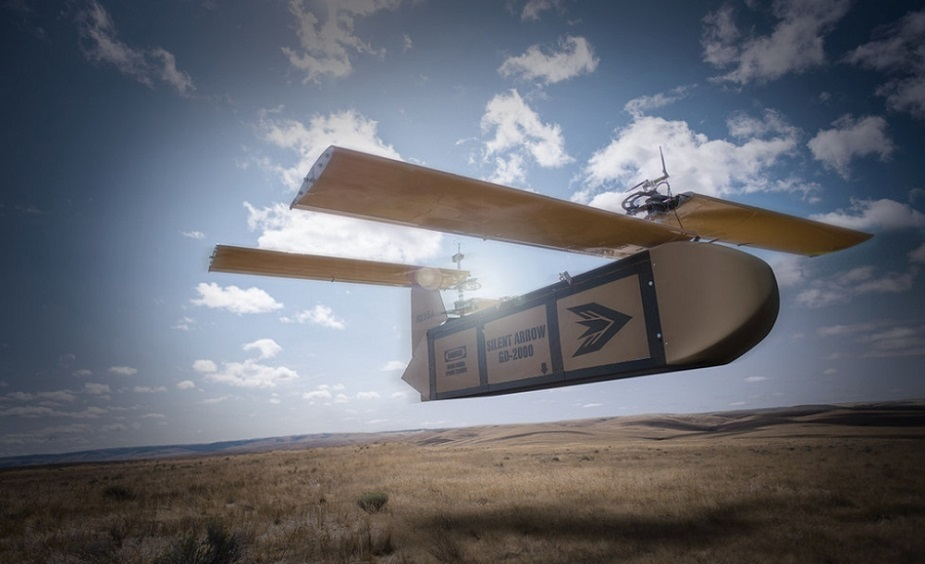 Silent Arrow awarded US Air Force contract for cargo delivery UAS
