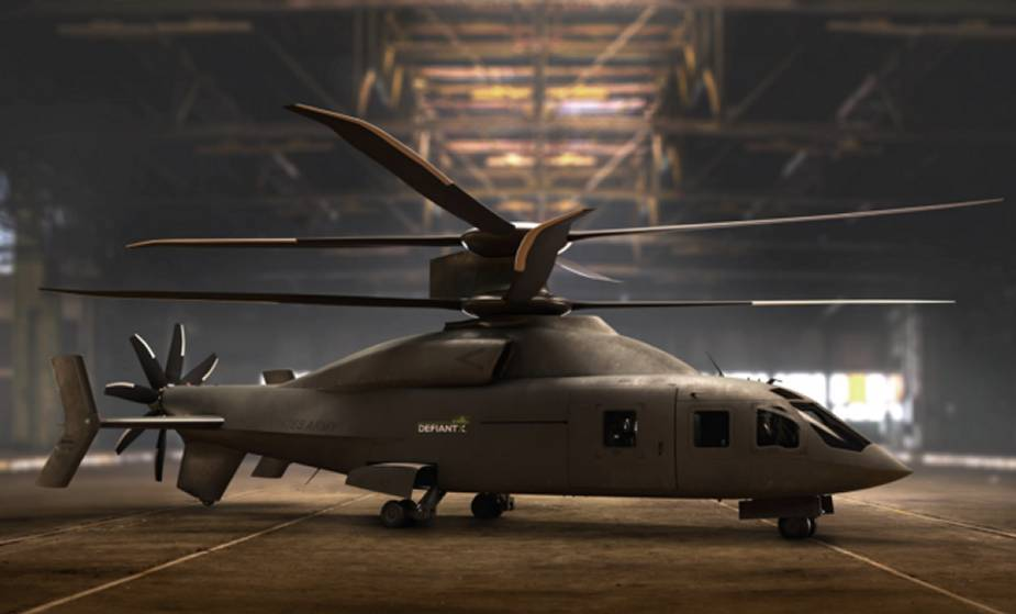 Boeing and Sikorsky detail updated Defiant X proposal for US Army FLRAA competition 1