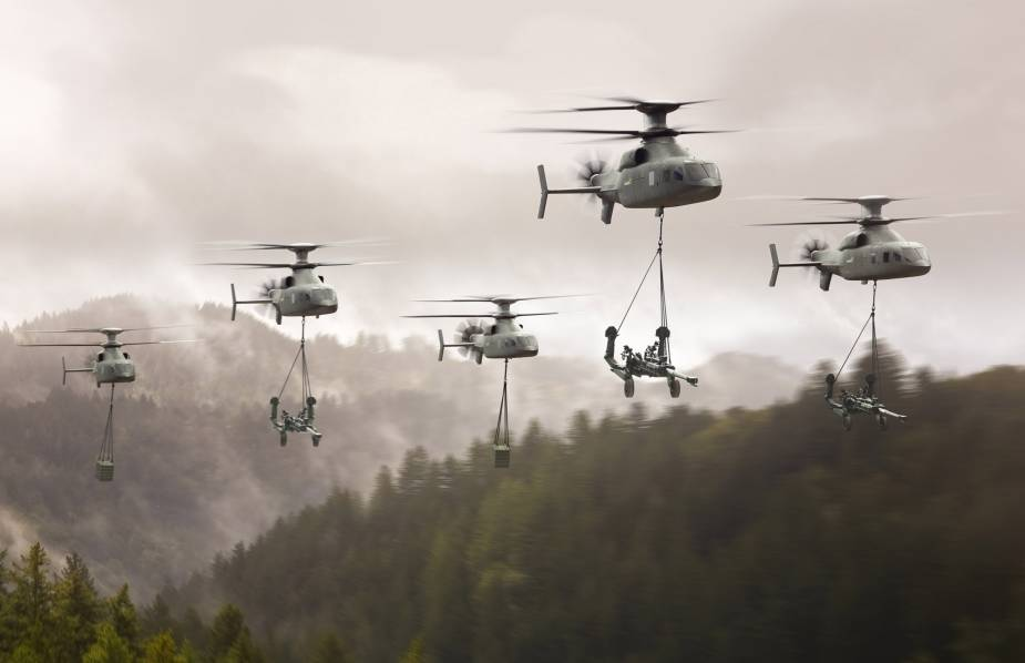 Boeing and Sikorsky present updated Defiant X proposal for US Army FLRAA competition 4