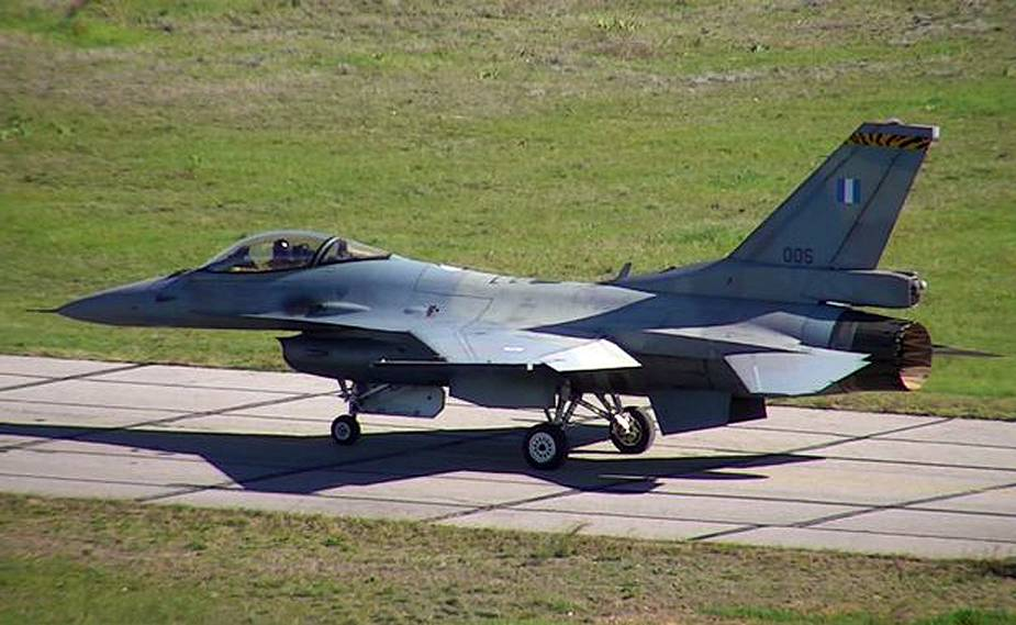 First Greek Air Force upgraded F 16V makes maiden flight