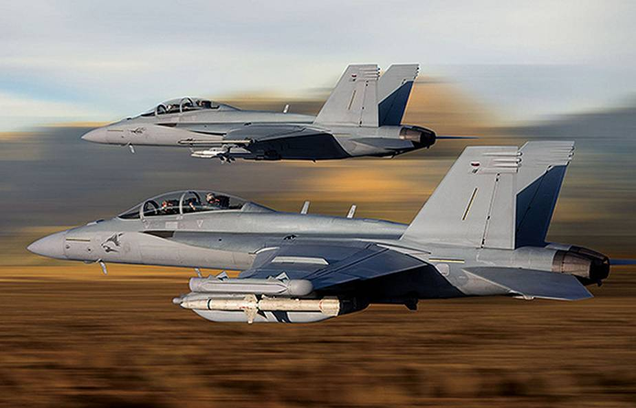 Sniper Advanced Targeting Pod Successfully Integrates With Kuwait F 18 Super Hornet 1