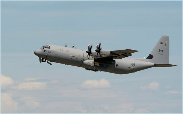 The first C-130J Super Hercules for the Sultanate of Oman was formally accepted at ceremonies, Aug. 30, at Lockheed Martin's Marietta facility. This is the first of three C-130Js on order for Oman and is scheduled for delivery later this year.