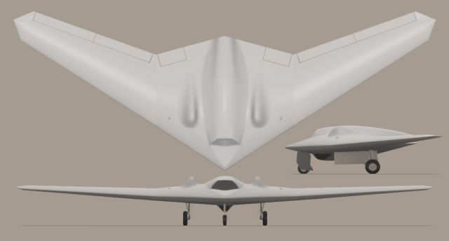 RQ-170 Sentinel UAS Unmanned Aerial System Lockheed Martin technical data sheet specifications information description intelligence identification pictures photos images video information US Air Force United States American defence industry military technology