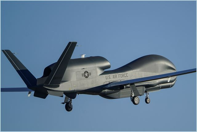 RQ-4 Global Hawk unmanned aerial system technical data sheet