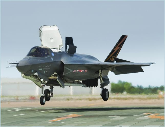 At a ceremony in Fort Worth, Texas, British Defence Secretary Philip Hammond formally accepted the first of the jets, which will be known as Lightning II. The aircraft are short take-off and vertical landing (STOVL) F-35B Joint Strike Fighters and are manufactured by Lockheed Martin.