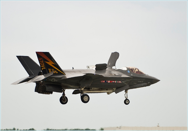 The Lockheed Martin [NYSE: LMT] F-35B short takeoff/vertical landing (STOVL) aircraft completed its 500th vertical landing August 3. BF-1, the aircraft which completed this achievement, also accomplished the variant's first vertical landing in March 2010 at Naval Air Station Patuxent River, Md.