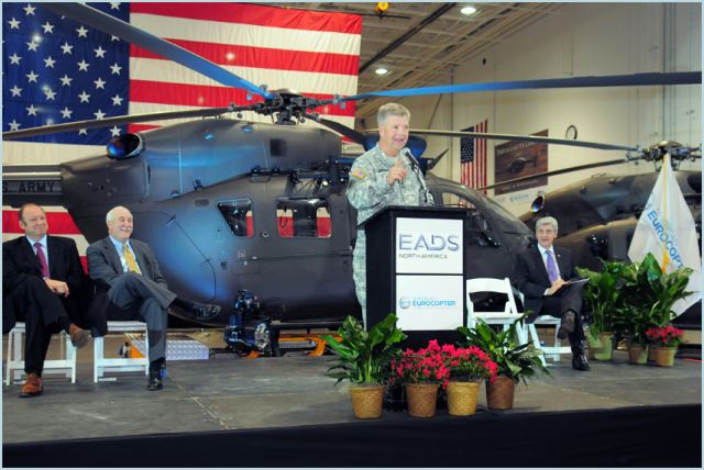 EADS North America delivered the 200th UH-72A Lakota Light Utility Helicopter (LUH) today to the U.S. Army during a ceremony at the company's American Eurocopter production facility in Columbus, Miss.