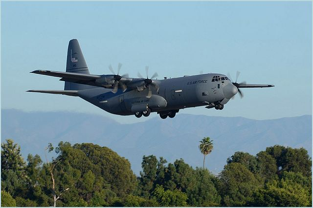 c 130 hercules military transport aircraft data sheet specifications intelligence description information identification pictures photos images video