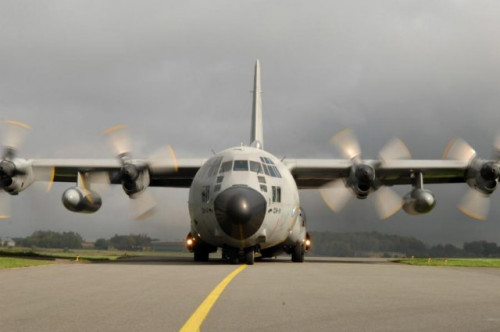 Belgium retires first C-130H military airlifter